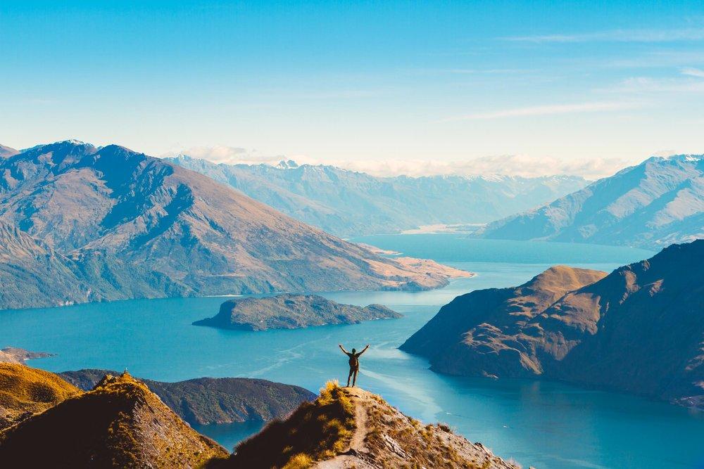 Roy's Peak,New Zealand