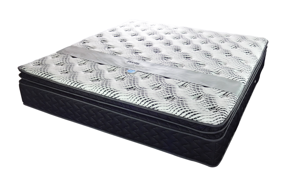 PRETO  - The medium-firm mattress waiting to be yours.