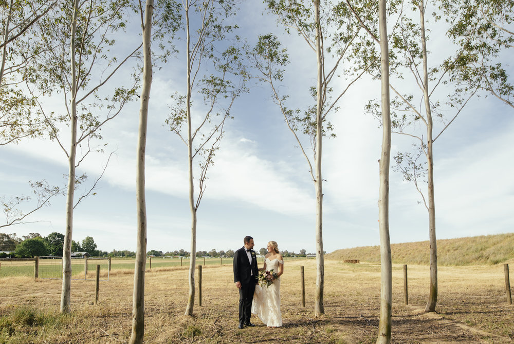 A beautiful venue like  Brown Brother Winery  will lend itself beautifully to a rustic wedding.  Ben and Genna, November 2018. Photo by  Motta Weddings .