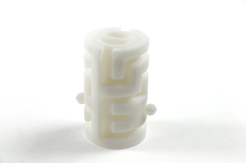maze connectors printed with an objet 3D printer