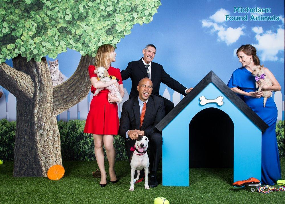 Alya&Gary Michelson at annual Found Animals Gala