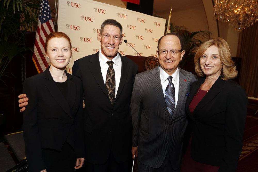 Alya & Gary Michelson; C.L. Max & Niki C. Nikias; USC Michelson Center Announcement