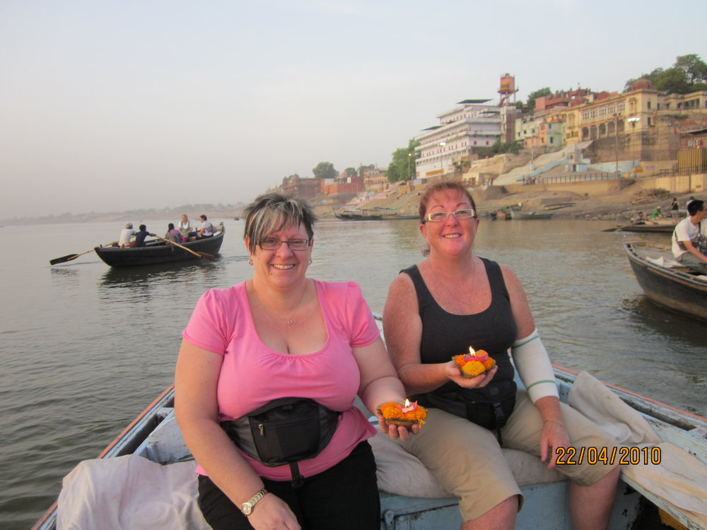 Lesley wilson and maryanne fletcher varanasi.JPG