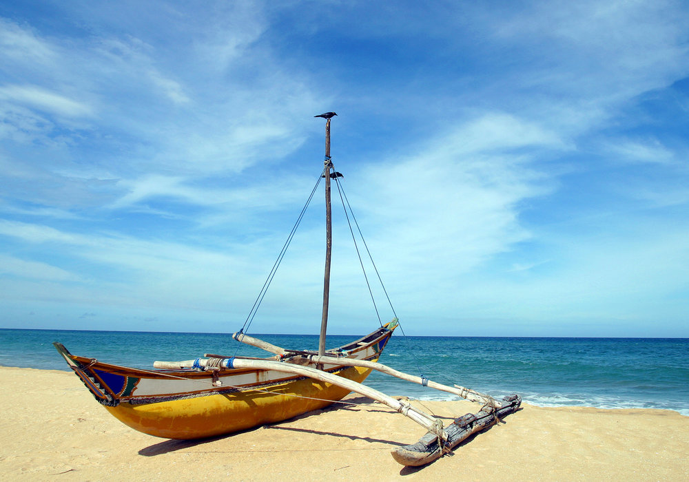 Sri Lankan Beach (Exclusive tours to Sri Lanka)