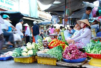 Vietnamese markets (exclusive Tours to South East Asia)