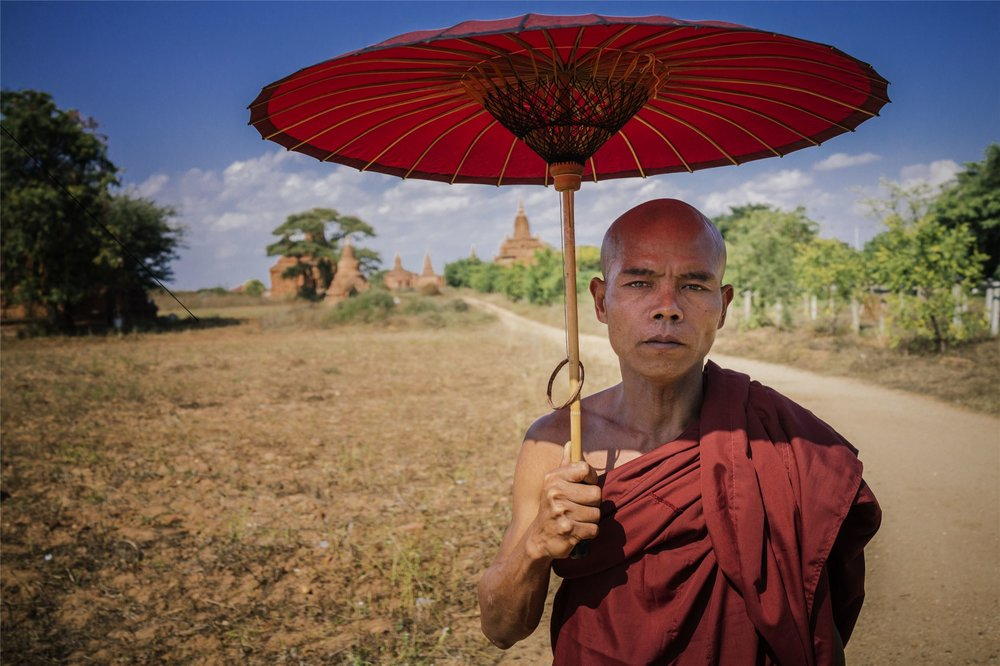 Buddhist Monk (exclusive Tours to South East Asia)