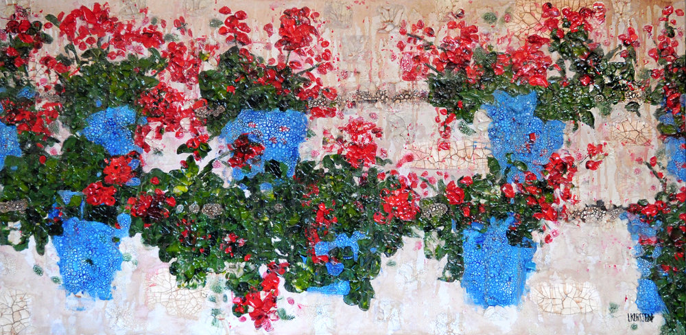 Flowers on a Wall in Cordoba.jpg