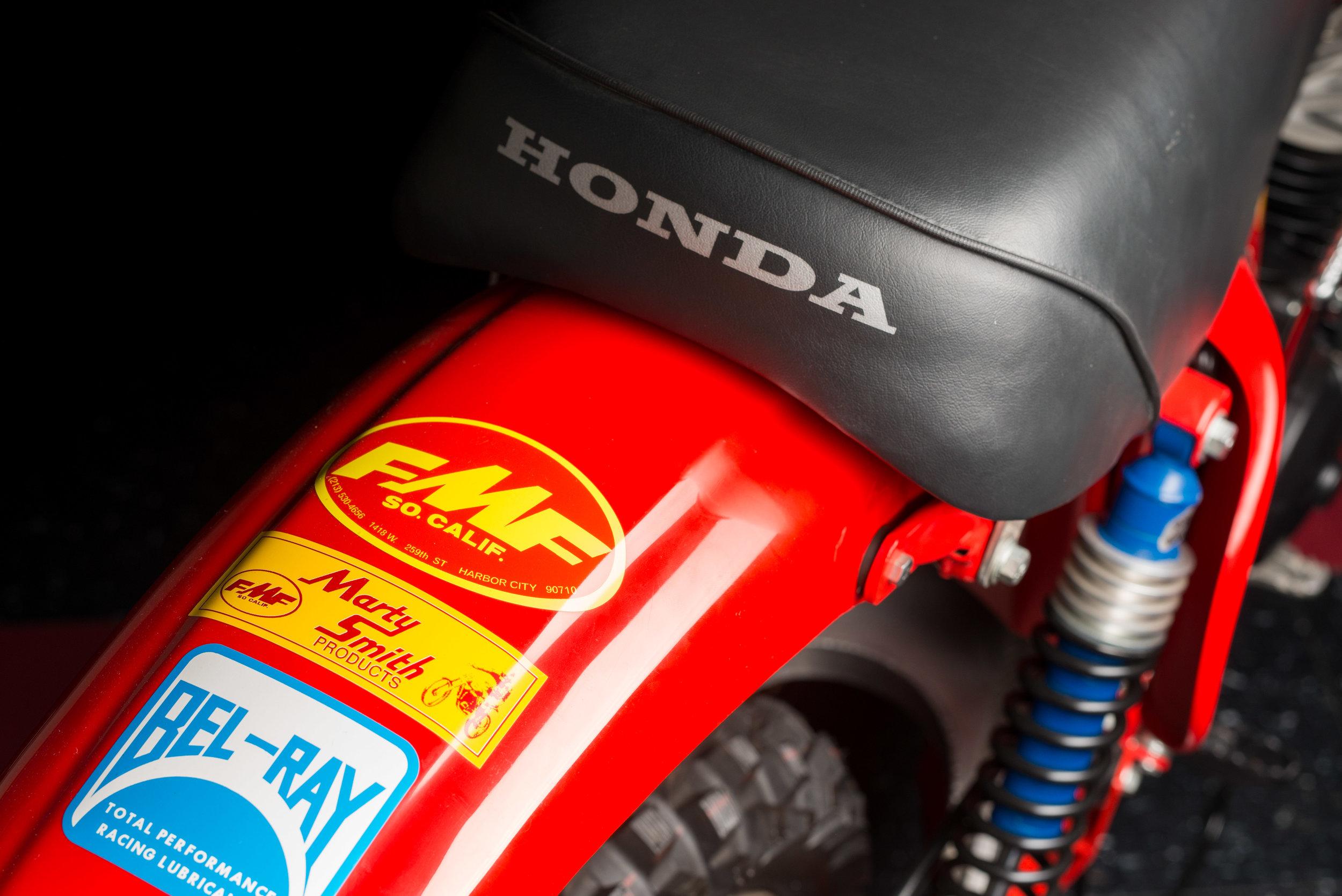 1974 Honda Cr125m Elsinore Danny Mckennas Garage Dirt Bike 125 1973 Elsinor 5