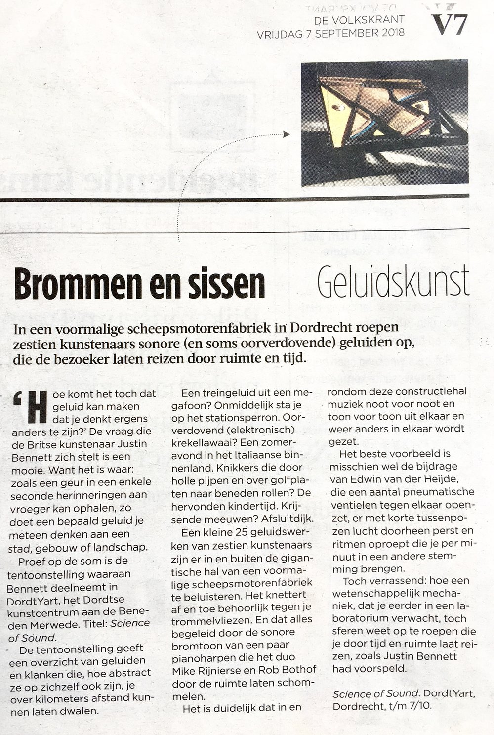 volkskrant science of sound