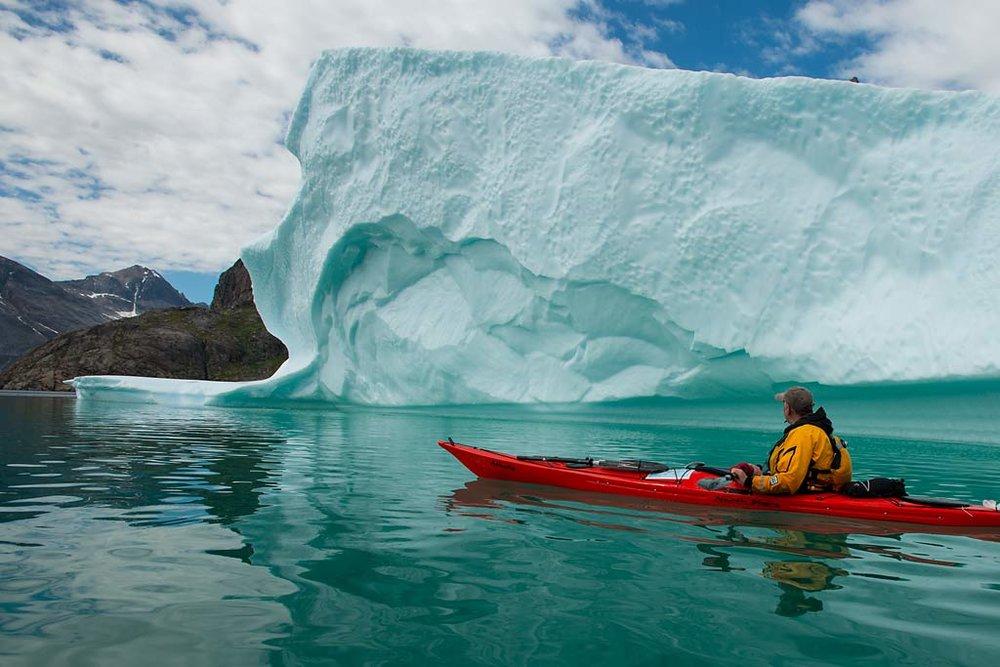Northern Exposure arrangerer padleekspedisjonar til Grønland kvart år. Bli med? Kom og bli inspirert av føredraget deira.