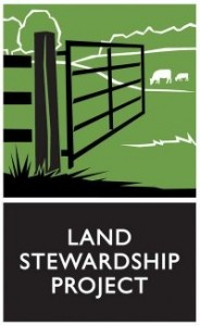 Land Stewardship Project The mission of the Land Stewardship Project is to foster an ethic of stewardship for farmland, to promote sustainable agriculture and to develop sustainable communities. /Website