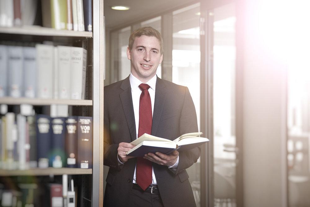 Business Portrait Anwalt Kanzlei