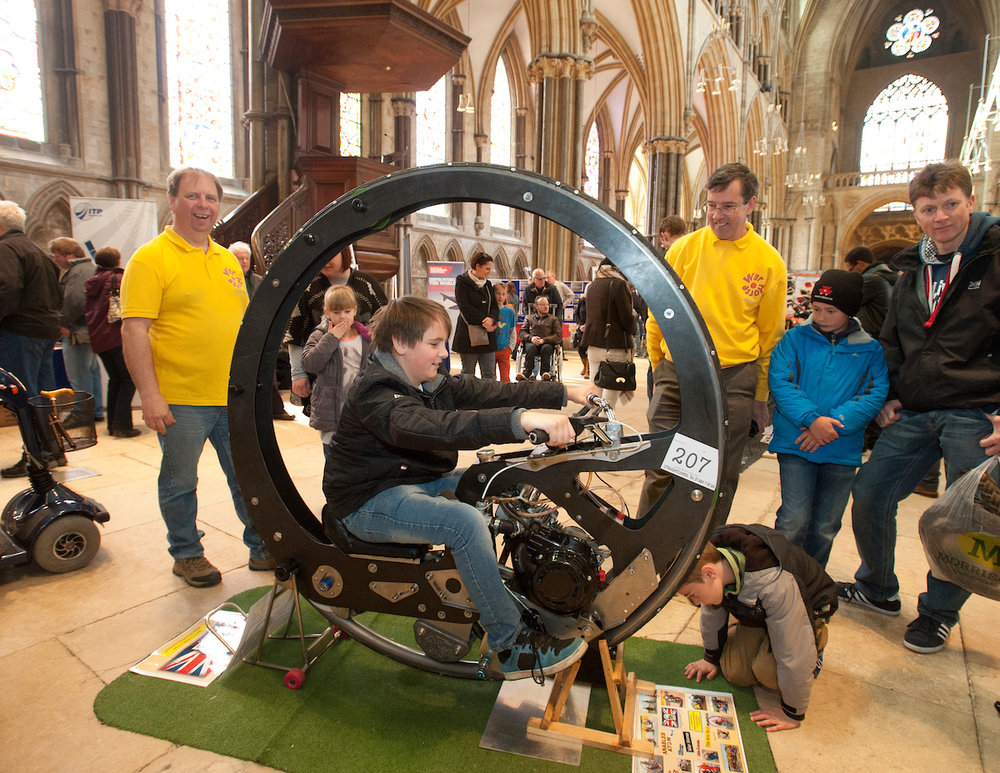 World record breaking Monowheel Warhorse