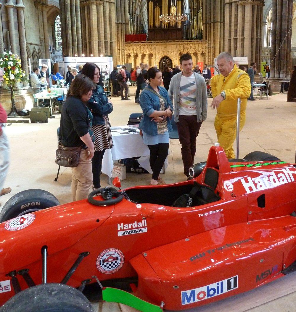 Racing cars!