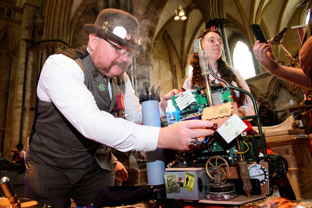 Steampunks and their amazing contraptions