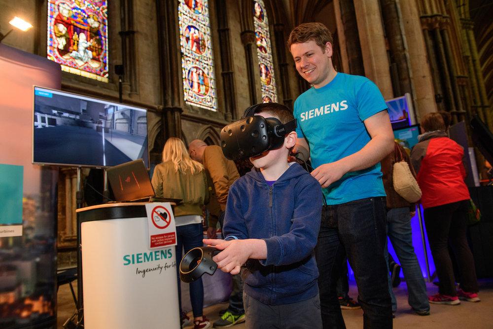 More virtual reality!