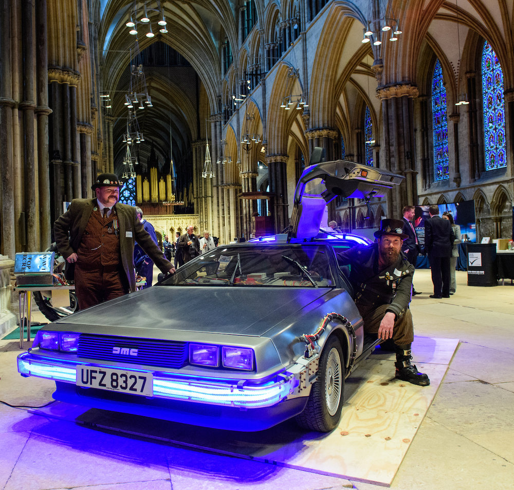 Steampunks and the Delorean