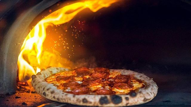 Lots more #delicious #pizza content on the way, so make sure you're following @thedoughshack. 🔥🍕🔥🍕 - #fire #oven #foodporn #pizzatime #pepperoni #cheese #dough #instagood #tasty #hot #cook