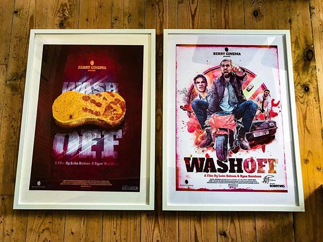 Who wants an A2 poster?! - #berry #cinema #movies #film #filmmaking #filmphotography #poster #posterdesign #graphic #graphicdesign #colour #vibrant #wash #off #sony #new #release #red #white #prize #win