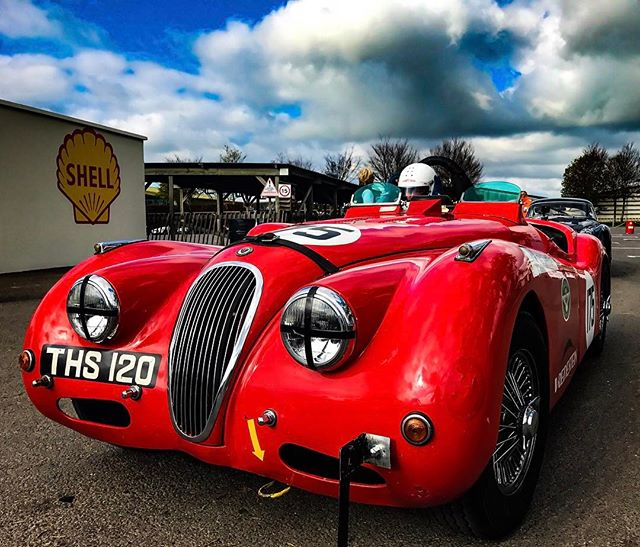 Great #fun #shooting the #jaguar XK120 at Goodwood Spring Sprint today! - #film #production #filmmaking #car #fast #classiccars #classic #vintage #england #british #producer #sony #slowmotion