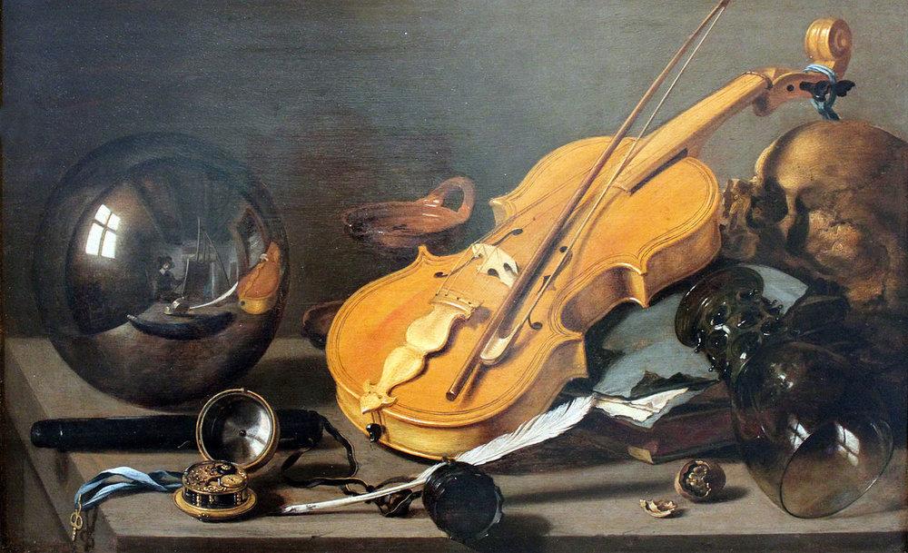 Pieter Claesz, Vanitas, 1628