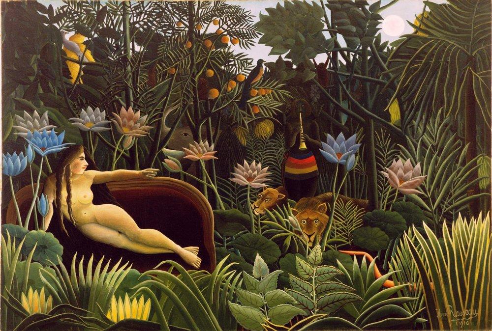 Henri Rousseau, The Dream, 1910