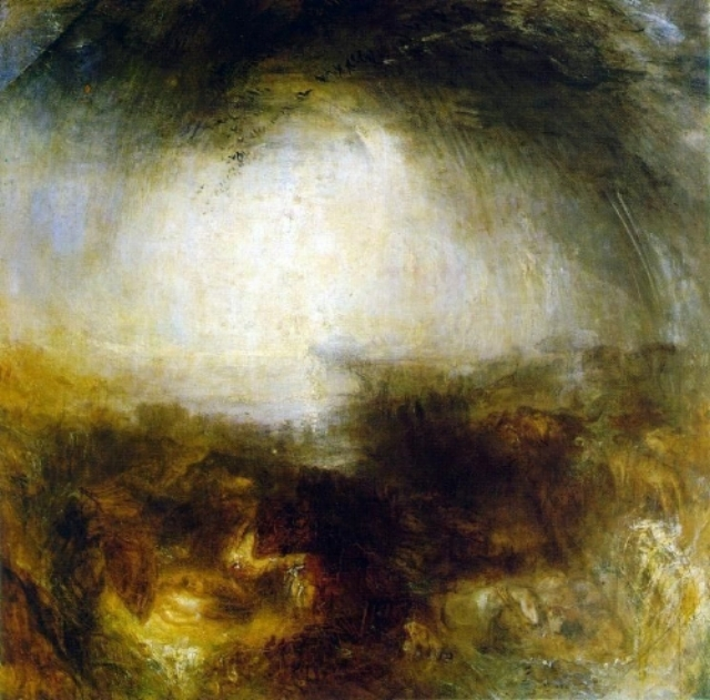 William Turner, Shade and darkness, 1843