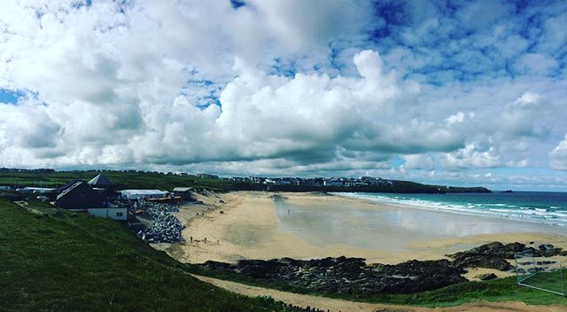 Fistral holding its energy for the big one this weekend.