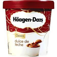 Gelado Americano Doce de Leite - Häagen-Dazs – Preço Médio 6,69 euros