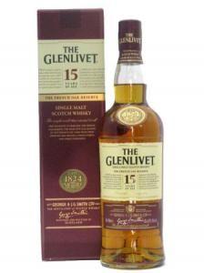 Glenlivet 15 Anos French Oak Reserve – Preço Médio 42,25 euros
