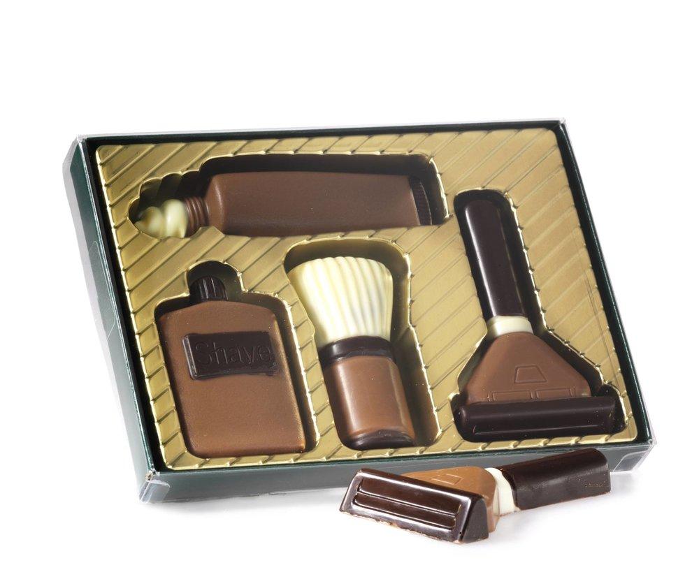 Kit de Barbear de chocolate, Hussel