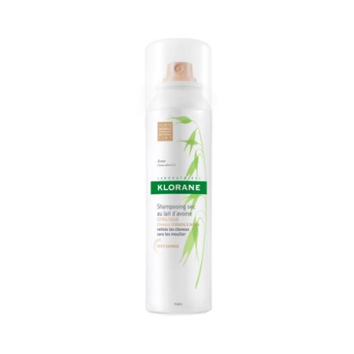 Klorane Leite de Aveia Spray Champô Seco Cabelos Castanhos 150ml -11,51 €, diponível em skin.pt