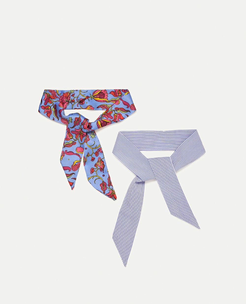 Pack de lenços, 9,95€, Zara