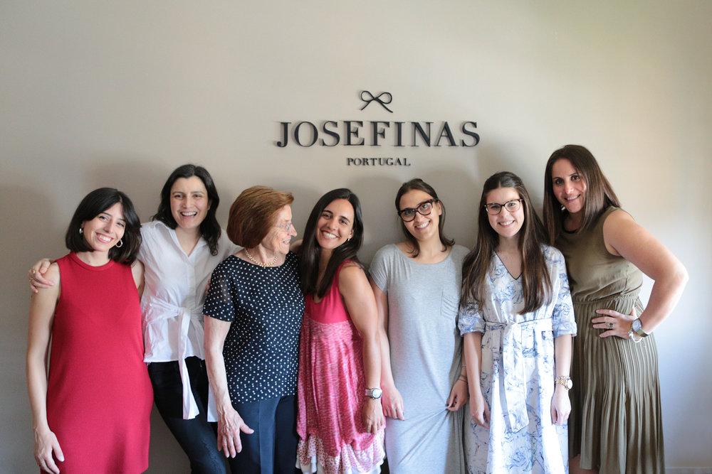 A equipa Josefinas