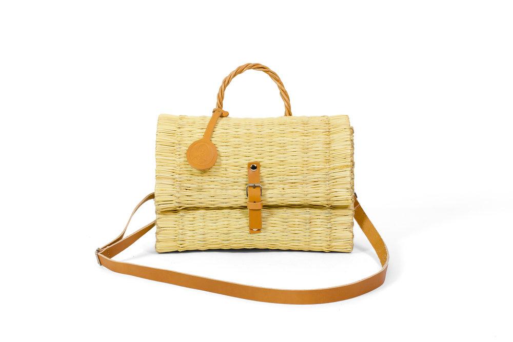 Flap Bag Natural with Strap.jpg