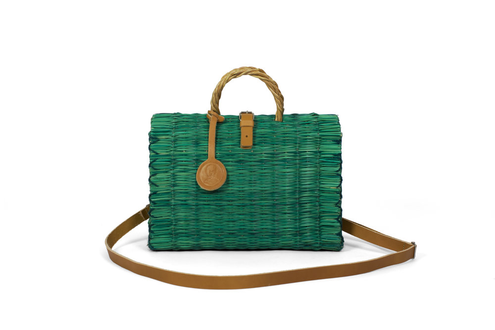 Handbag Green with Strap.jpg
