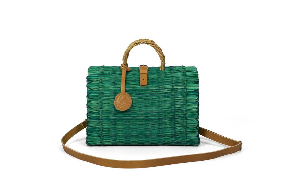 Handbag Green with Strap.jpg