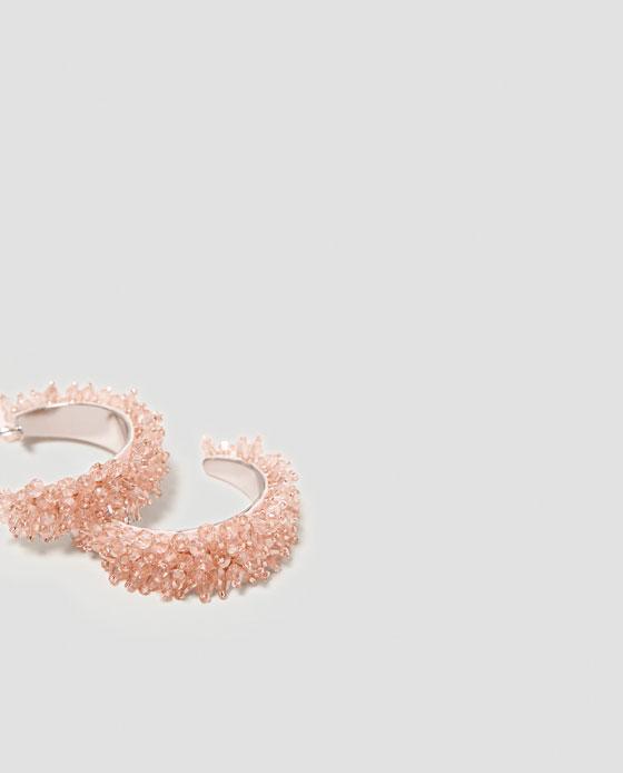 Argolas com Contas, 12,95€, Zara