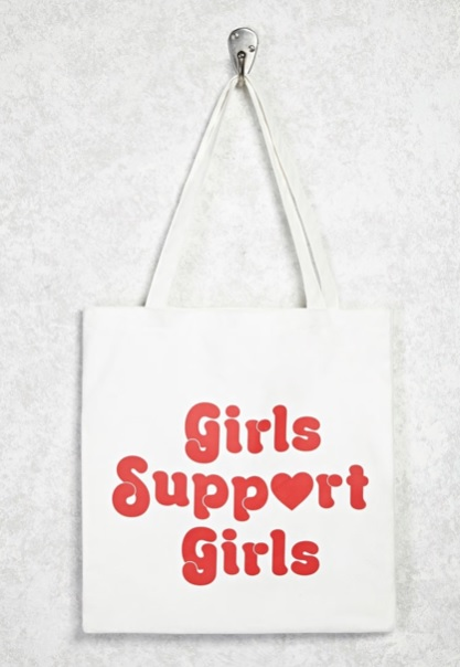 Girls Support Girls Tote