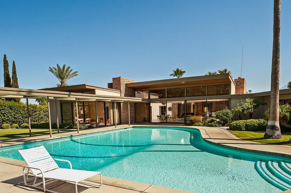 A Casa de Frank Sinatra, foto © Luxury Retreats
