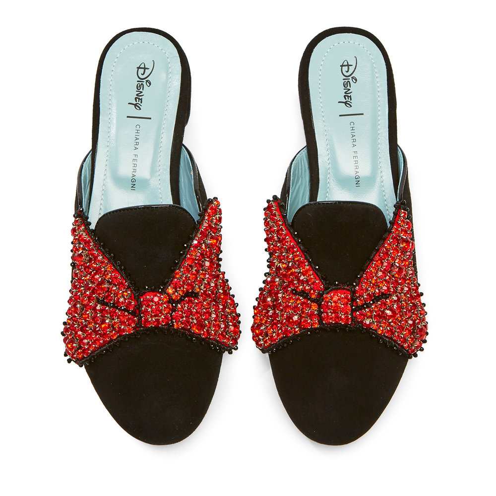 Mules Minnie Mouse com laço, 384€