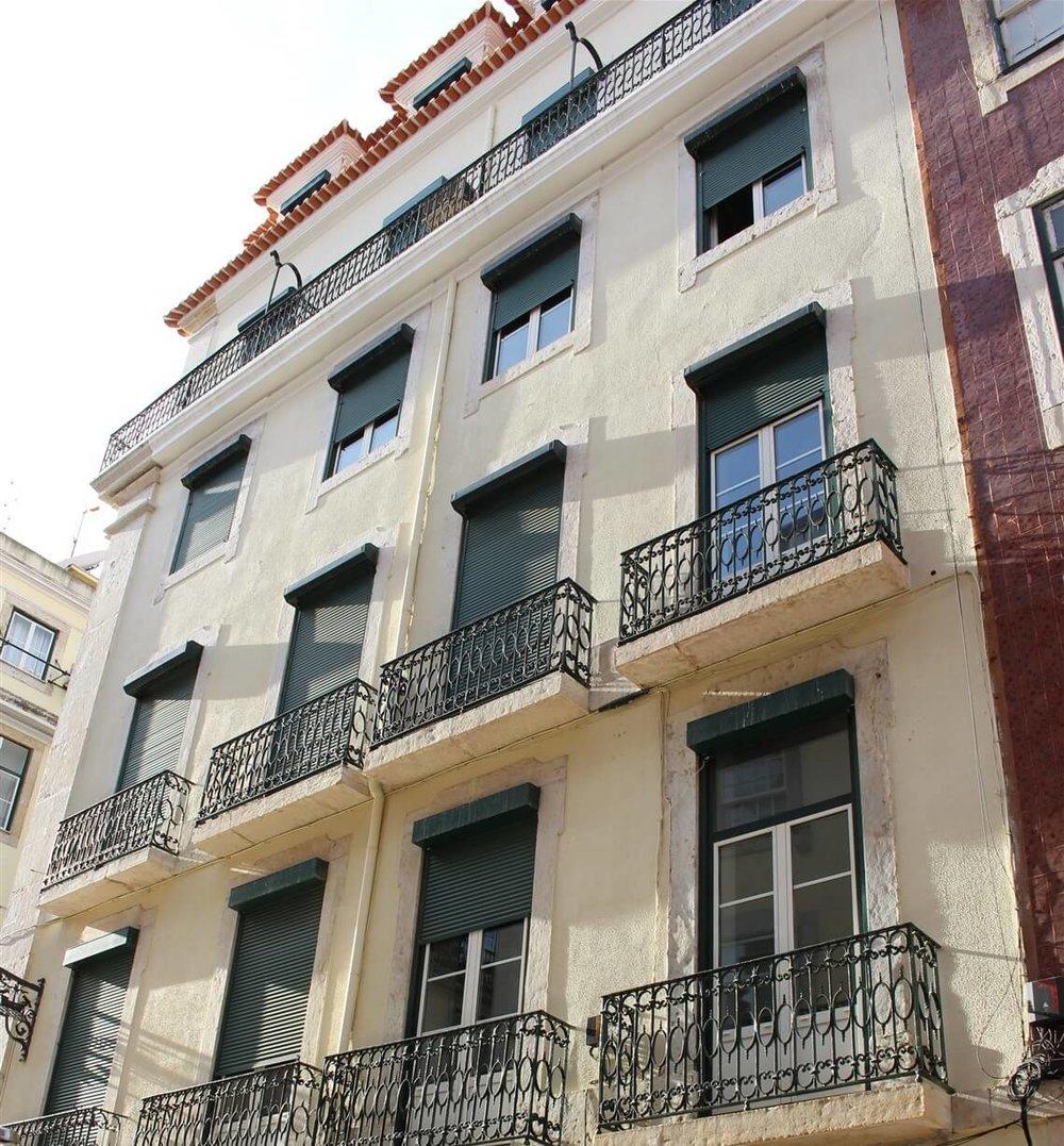 Prédio onde Fernando Pessoa conheceu Ofélia Queirós