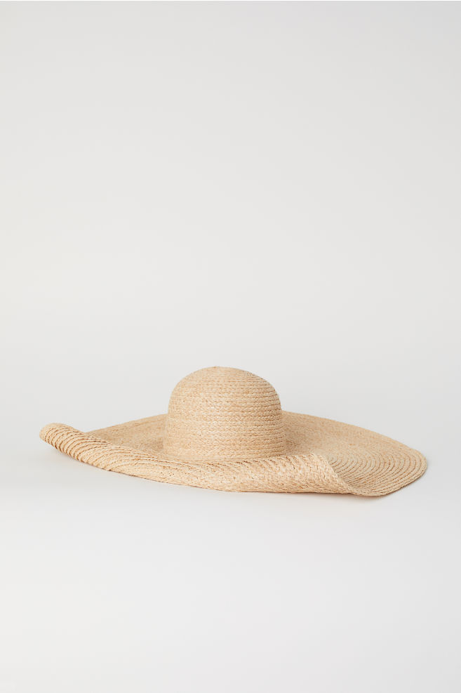 H&M: Chapéu de palha grande