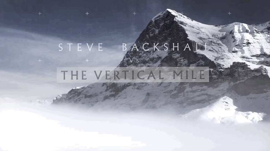 Steve Backshall Vs The Vertical Mile