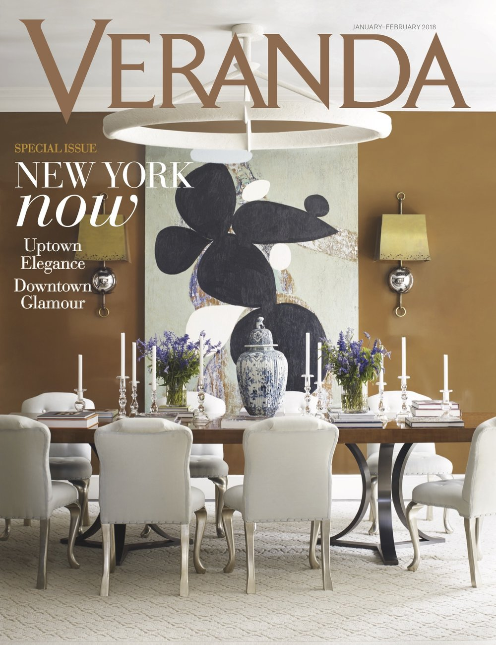 Denise Fasnanello Flowers - Feature by Veranda - January 2018 - Cover.jpg