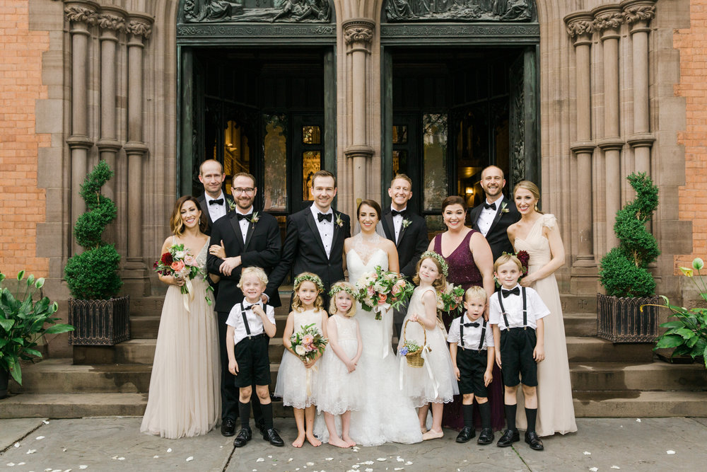 Old World NYC Wedding at the Highline Hotel - Flowers by Denise Fasanello Flowers - Photo by Heather Waraska 12.jpg