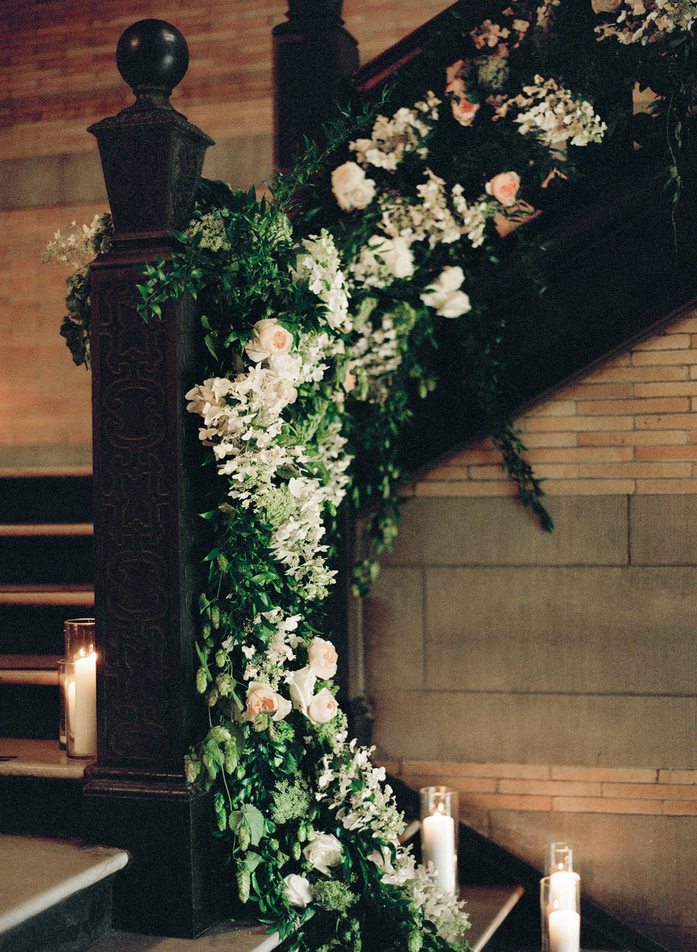 Old World NYC Wedding at the Highline Hotel - Flowers by Denise Fasanello Flowers - Photo by Heather Waraska 14.jpg