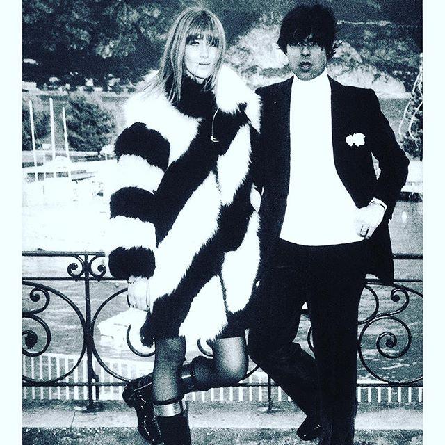 French model and Yves Saint Laurent muse Betty Catroux (Betty Saint) and designer Francois Catroux 1968. Style. #style #luxury #luxurylifestyle #design #designer #yvessaintlaurent #interiordesign #interiordesigner #interiordecorating #interior #chic #frenchdesign #karlspringer #karlspringerltd #frenchdecor #interiors #decir #bespokedesign #designicon