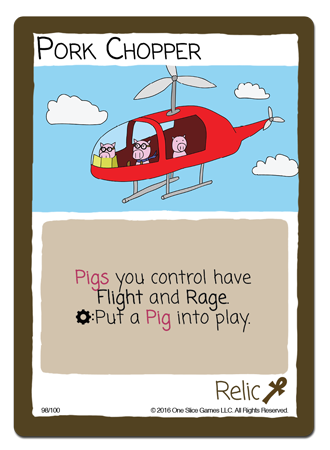 Pork Chopper One Slice Games