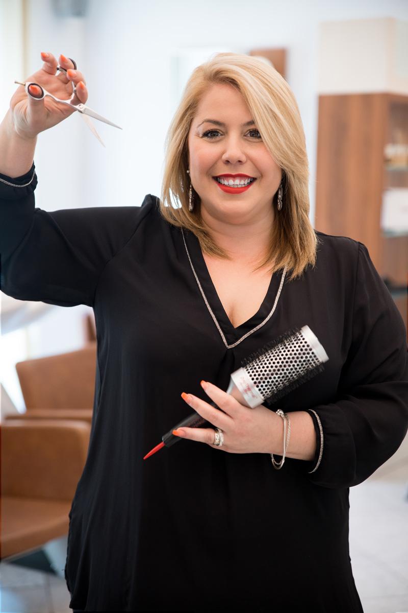 Barbara - Stylistin, Spezialistin für Farbe und Schnitt